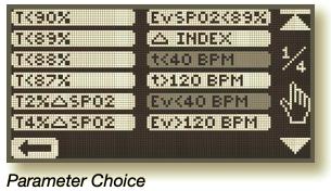 Parameter Choice