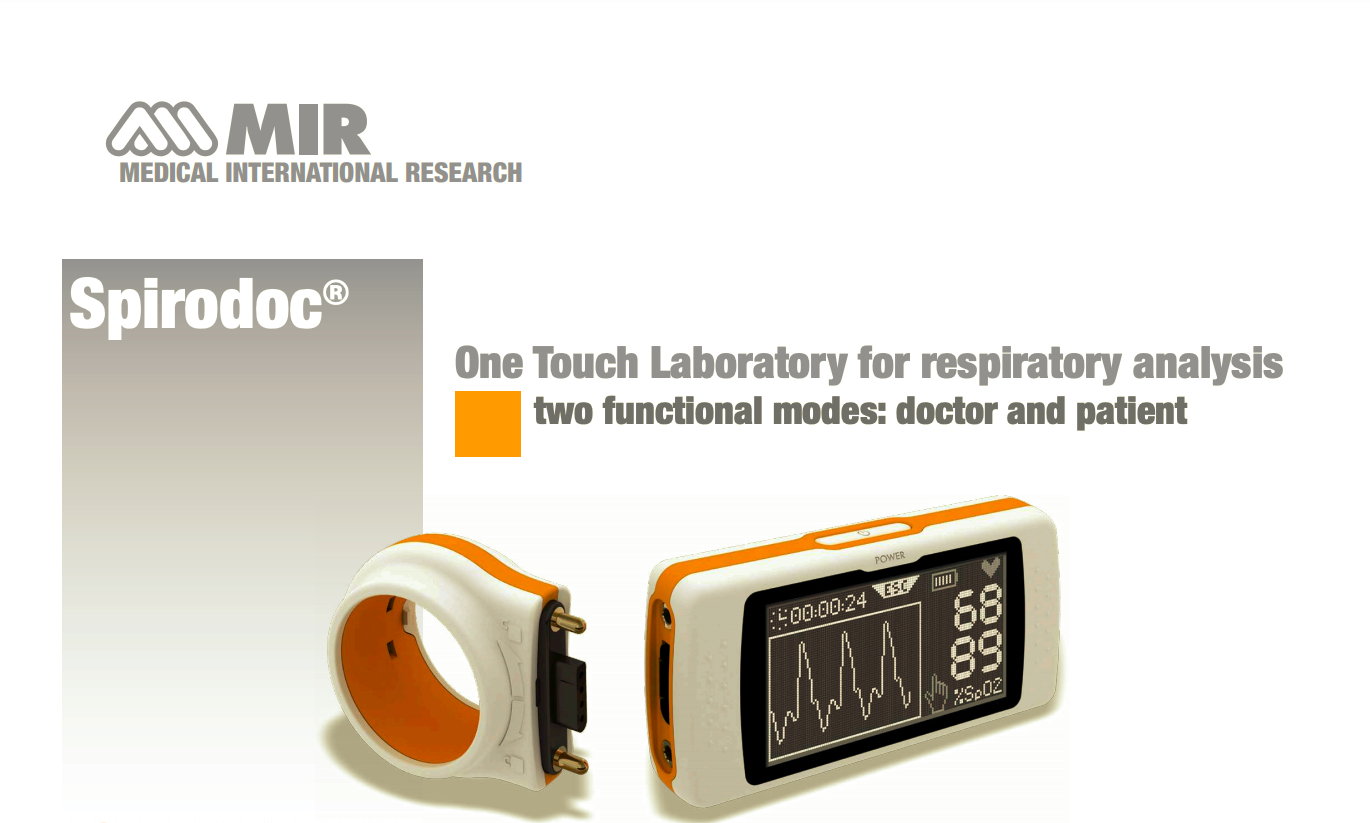One Touch Laboratory for respiratory analysis