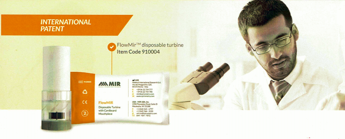 FlowMIR disposable turbine
