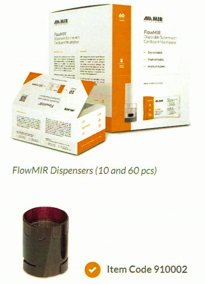 FlowMIR Dispensers